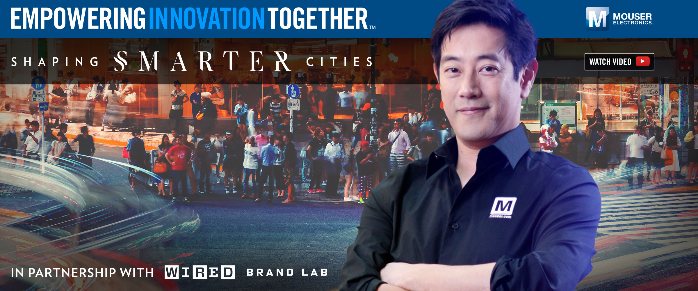 "Mouser Electronics and Grant Imahara launch  ""Shaping Smarter Cities� video series"